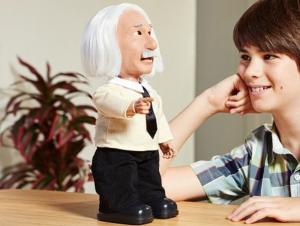 Albert Einstein Doll Robot