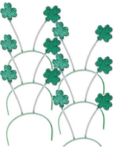 St. Patrick's Day Headbands Shamrock