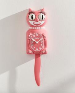 Vintage Clock Pink