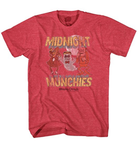 Red Vintage Tee Monster Cereal