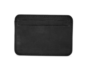 Black Card Case Fossil