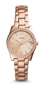 Rose Gold Watch Fossil