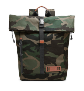 Camouflage Backpack Rolltop