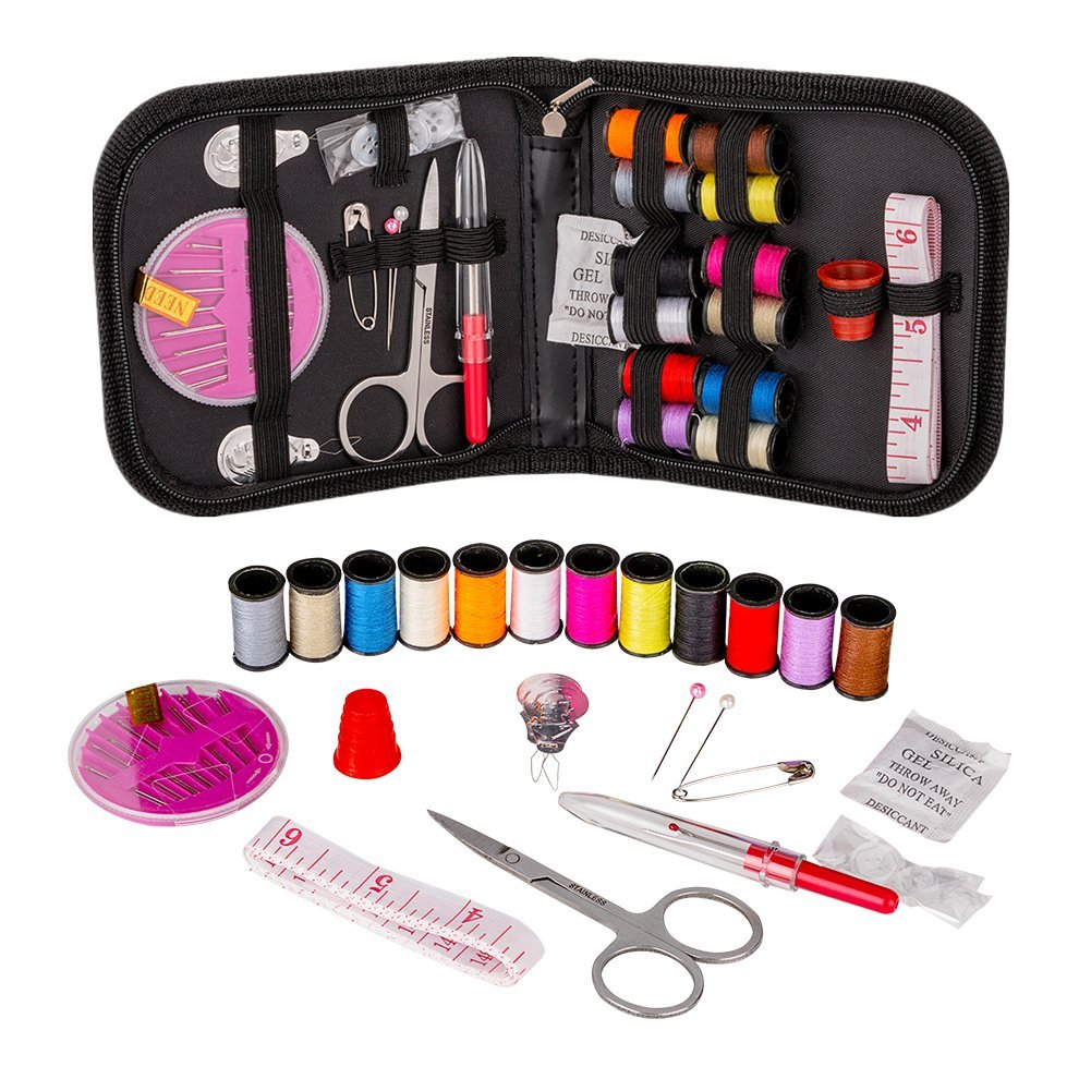 sewing kits best available on Amazon under $15 kids travel emergency supplies