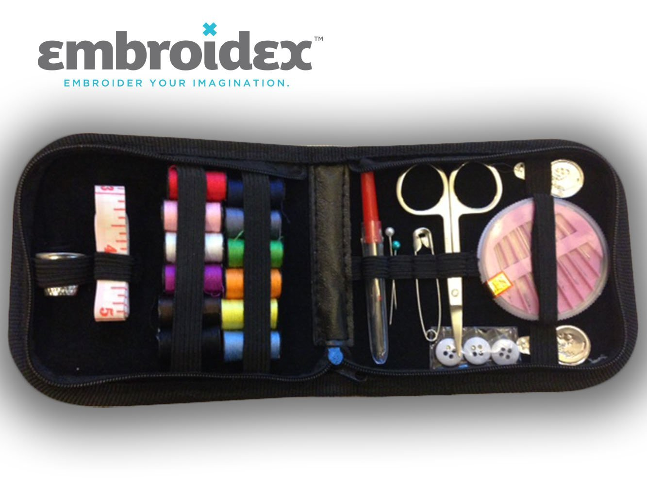 sewing kits best available on Amazon under $15 embroidex home travel emergencies quality notions
