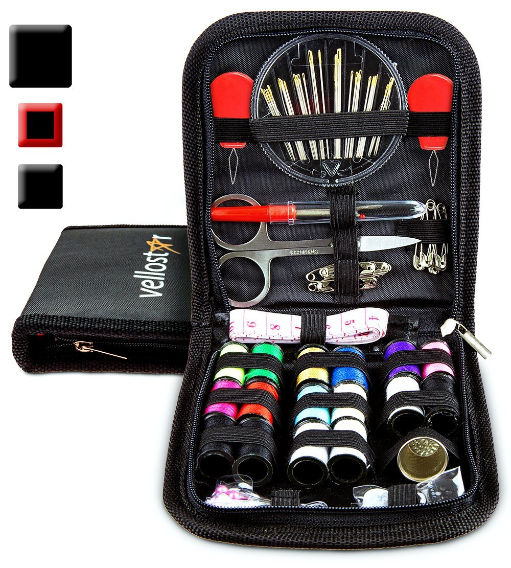 sewing kits best available on Amazon under $15 vellostar home clothing repairs office travel