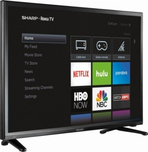 Sharp - 32 Class Smart HDTV Roku TV