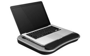 Smart-e Lap Desk, Silver Carbon