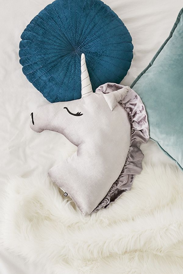 magic unicorn grown-up ways to try the trend throw pillow urban outfitters