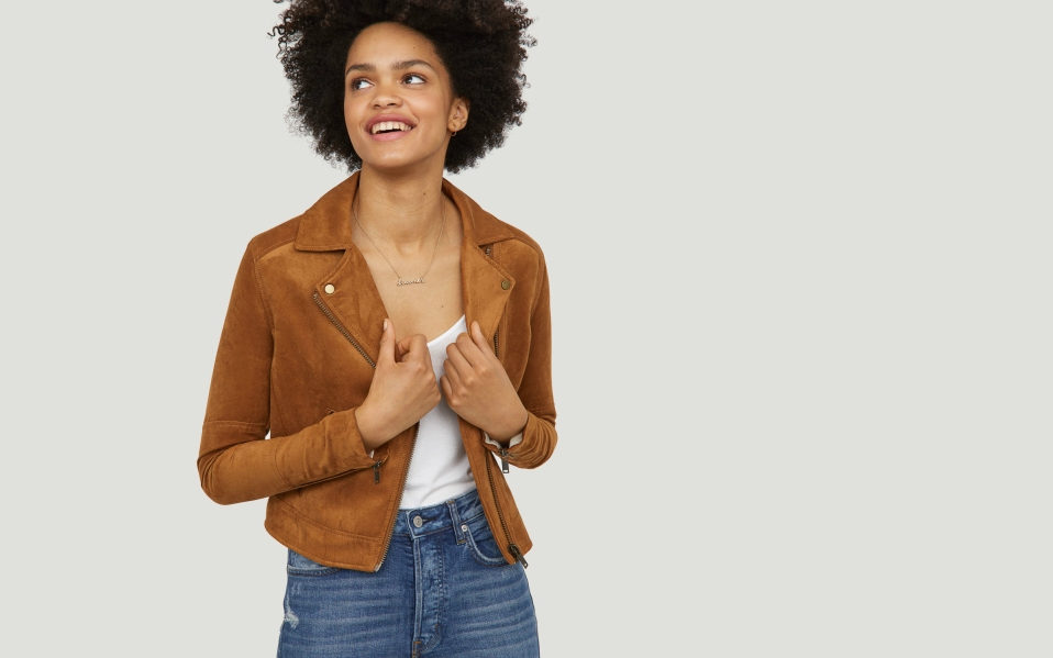 Best Vegan Leather Jackets Faux Suede