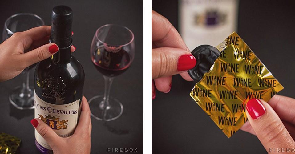wine condoms amazon