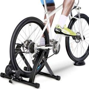 YAHEETECH indoor bike trainer stand, indoor bike trainers