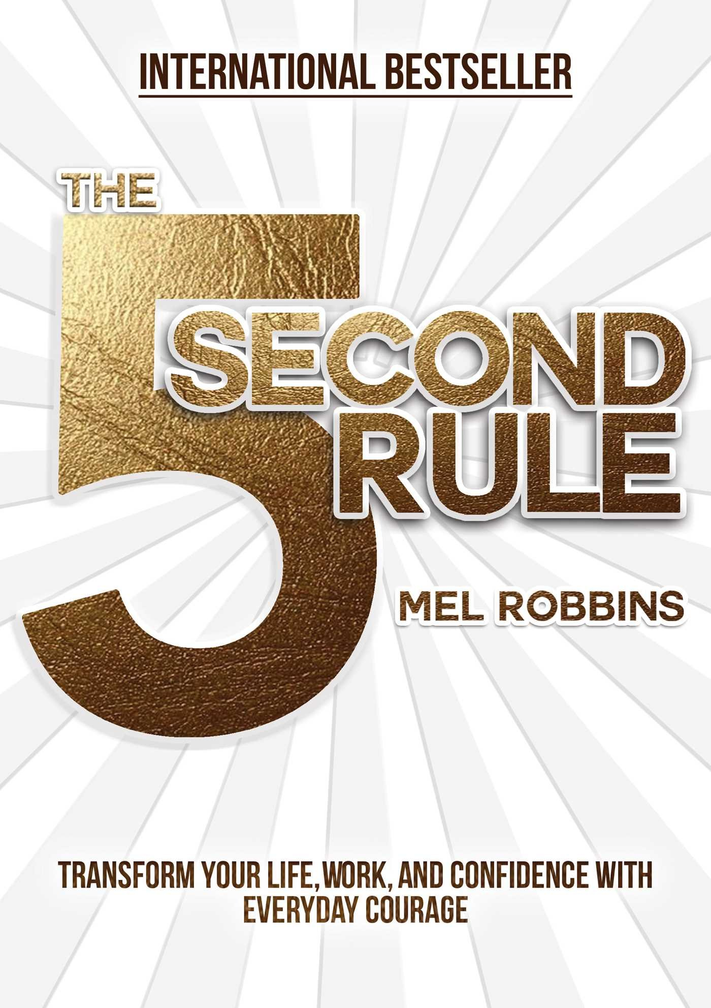 the 5-second rule book mel robbins self-help morning books