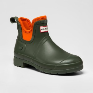 hunter for target Green Rain Boots Ankle