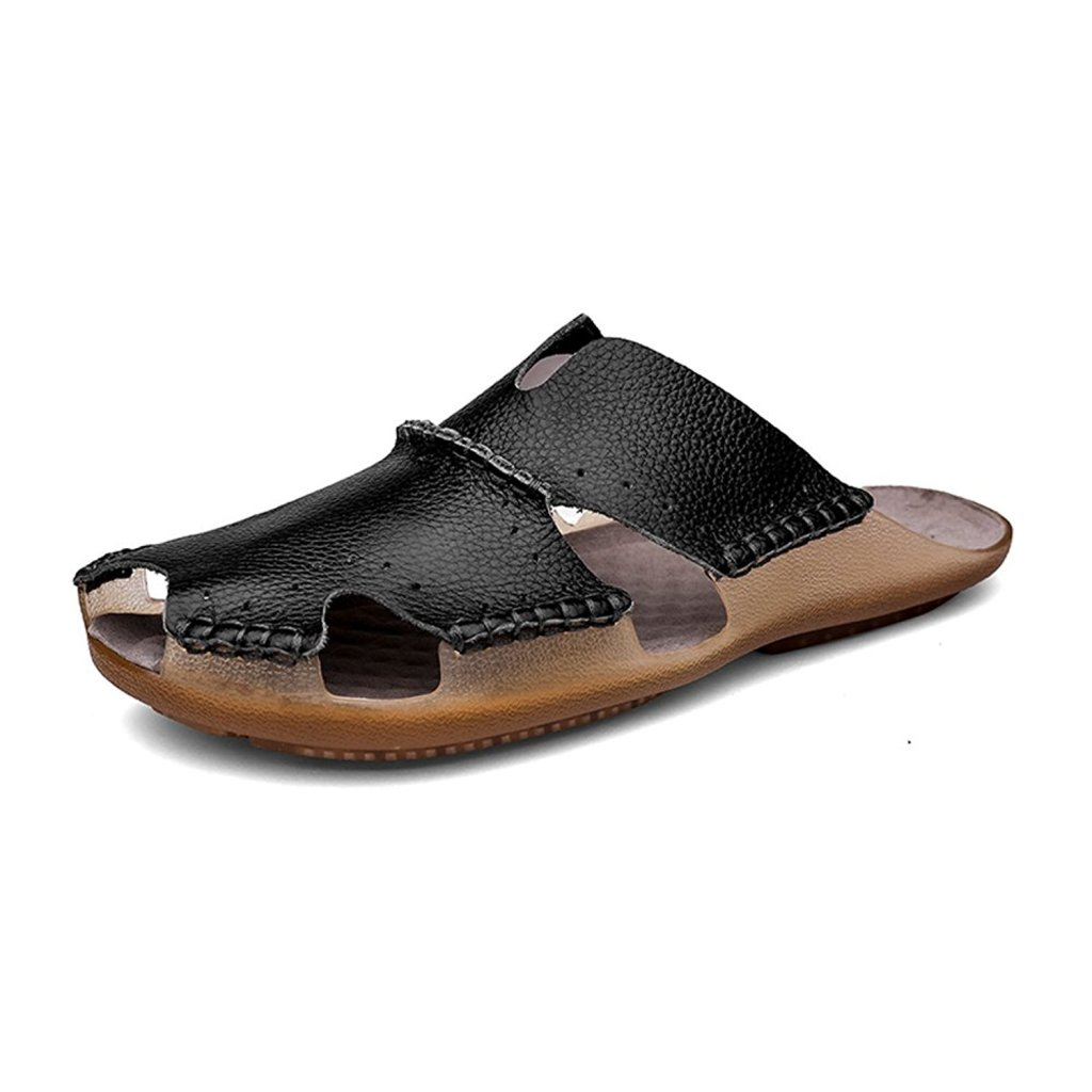 aliwendy mens leather sandals