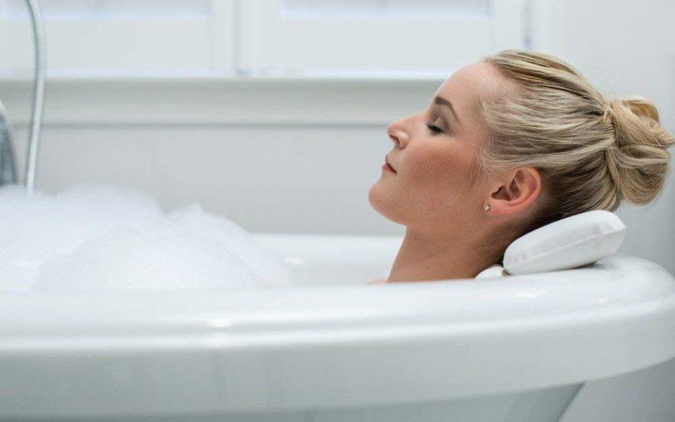 best bath pillow self care