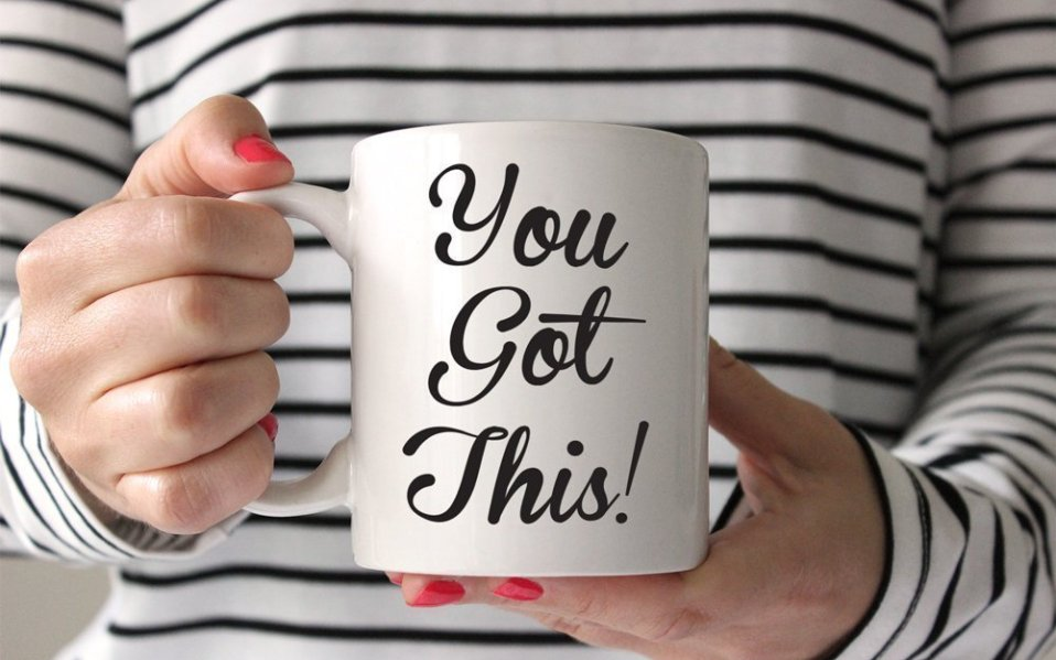 motivational coffee mugs cups
