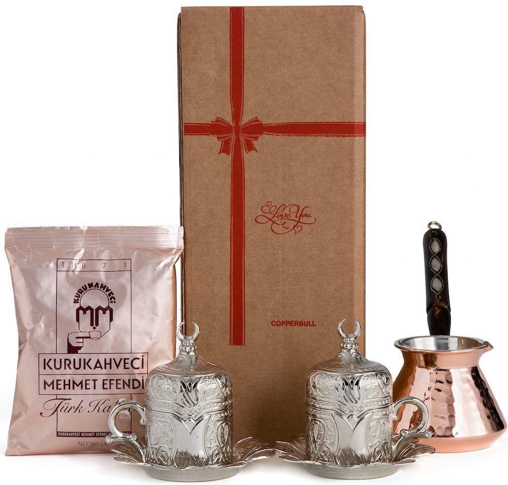 how to make turkish coffee set