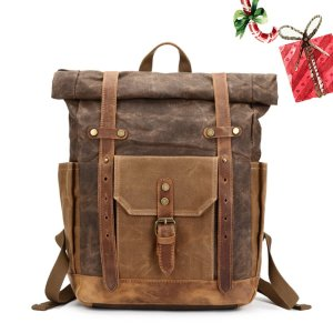 Leather Backpack Vintage