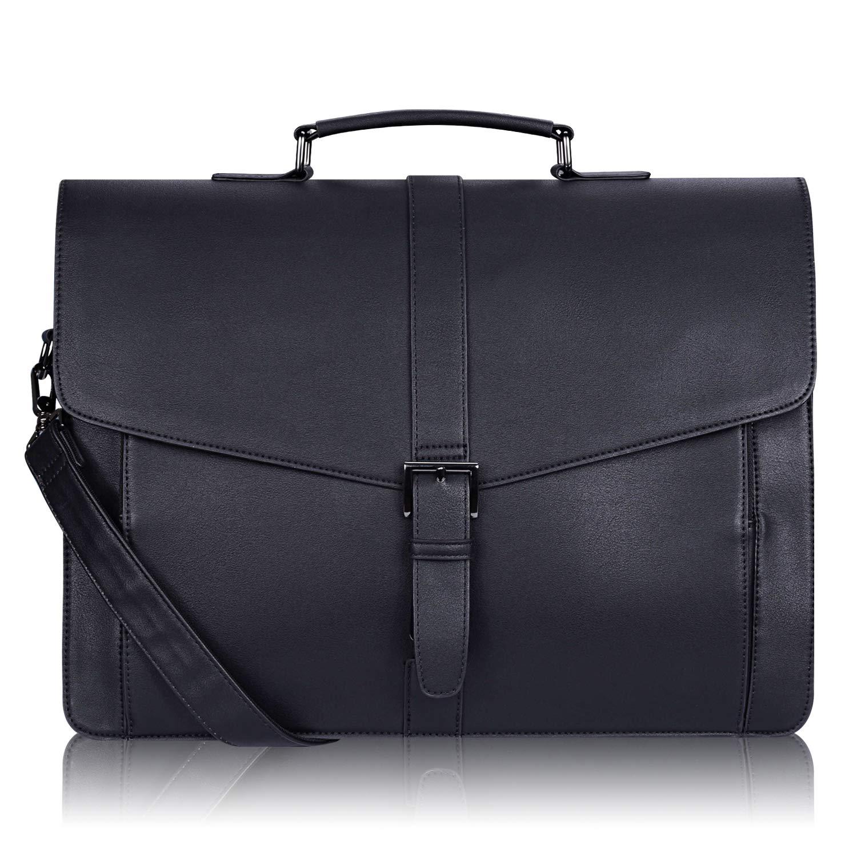 Estarer men's leather briefcase