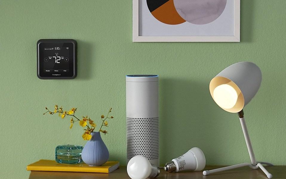 honeywell smart thermostat amazon