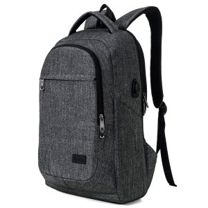 Black Backpack Laptop Sleeve
