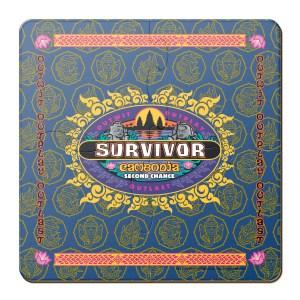 survivor drinking coasters