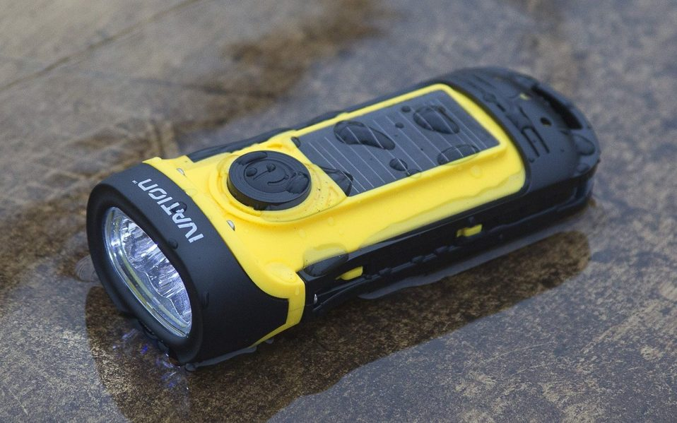 best solar powered flashlights
