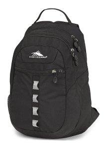 Black Backpack High Sierra
