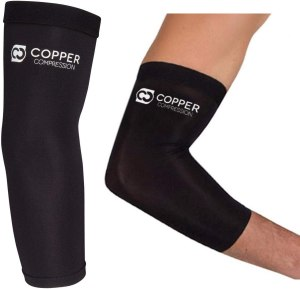 copper compression sleeve, arm compression sleeves