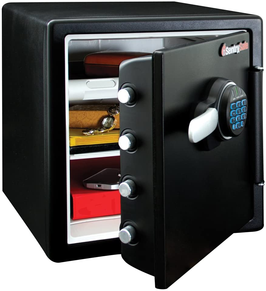SentrySafe Fireproof Waterproof Safe, unique wedding gifts