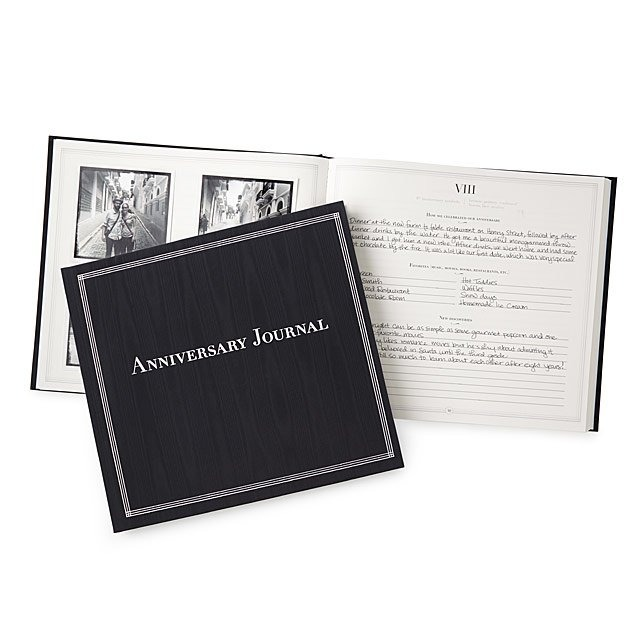 The Anniversary Journal by Uncommon Goods, unique wedding gifts