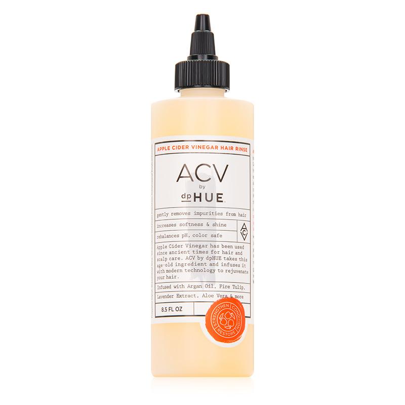apple cider vinegar hair care trend dpHUE rinse
