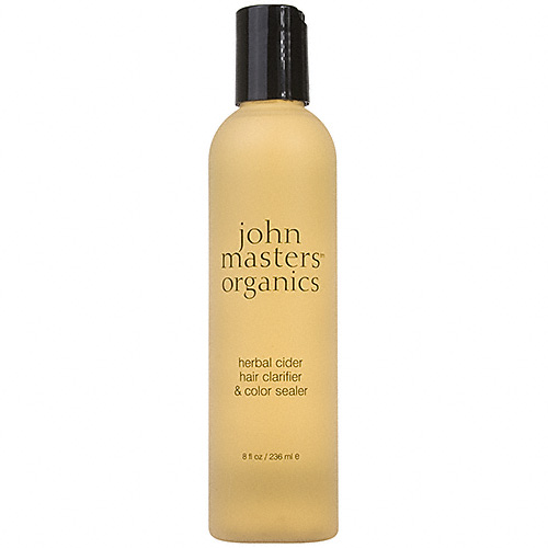apple cider vinegar hair care trend john masters organics herbal color clarifier and sealer
