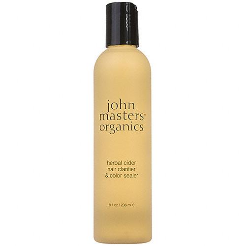 apple cider vinegar hair care trend john masters organics herbal color clarifier and sealer