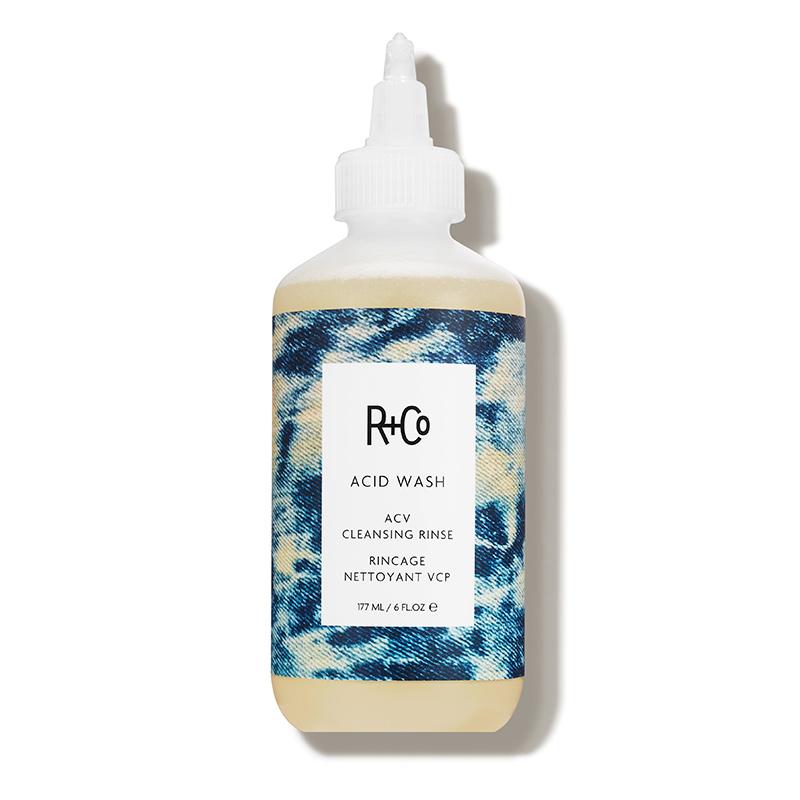 apple cider vinegar hair care trend R+Co acid wash cleansing rinse