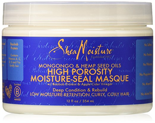 apple cider vinegar hair care trend high porosity moisture seal masque shea