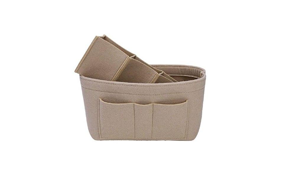 bag organizer purse handbag organized felt
