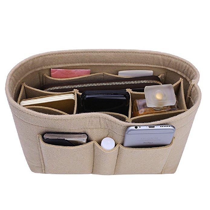 bag organizer purse handbag organized felt insert CEEWA