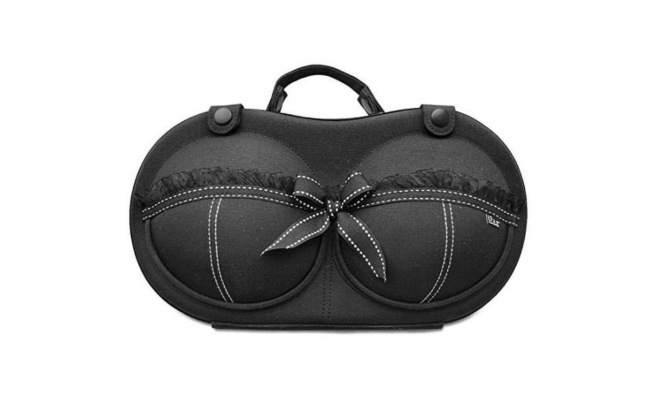 bra bag brag lingerie travel case