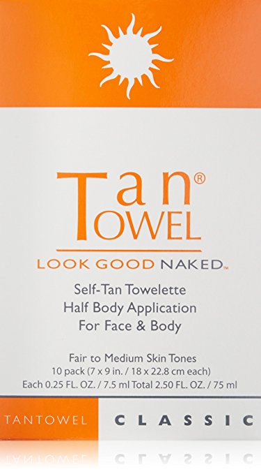 tanning lotion best body bronzers instant glow tantowel look good naked self-tan towelette