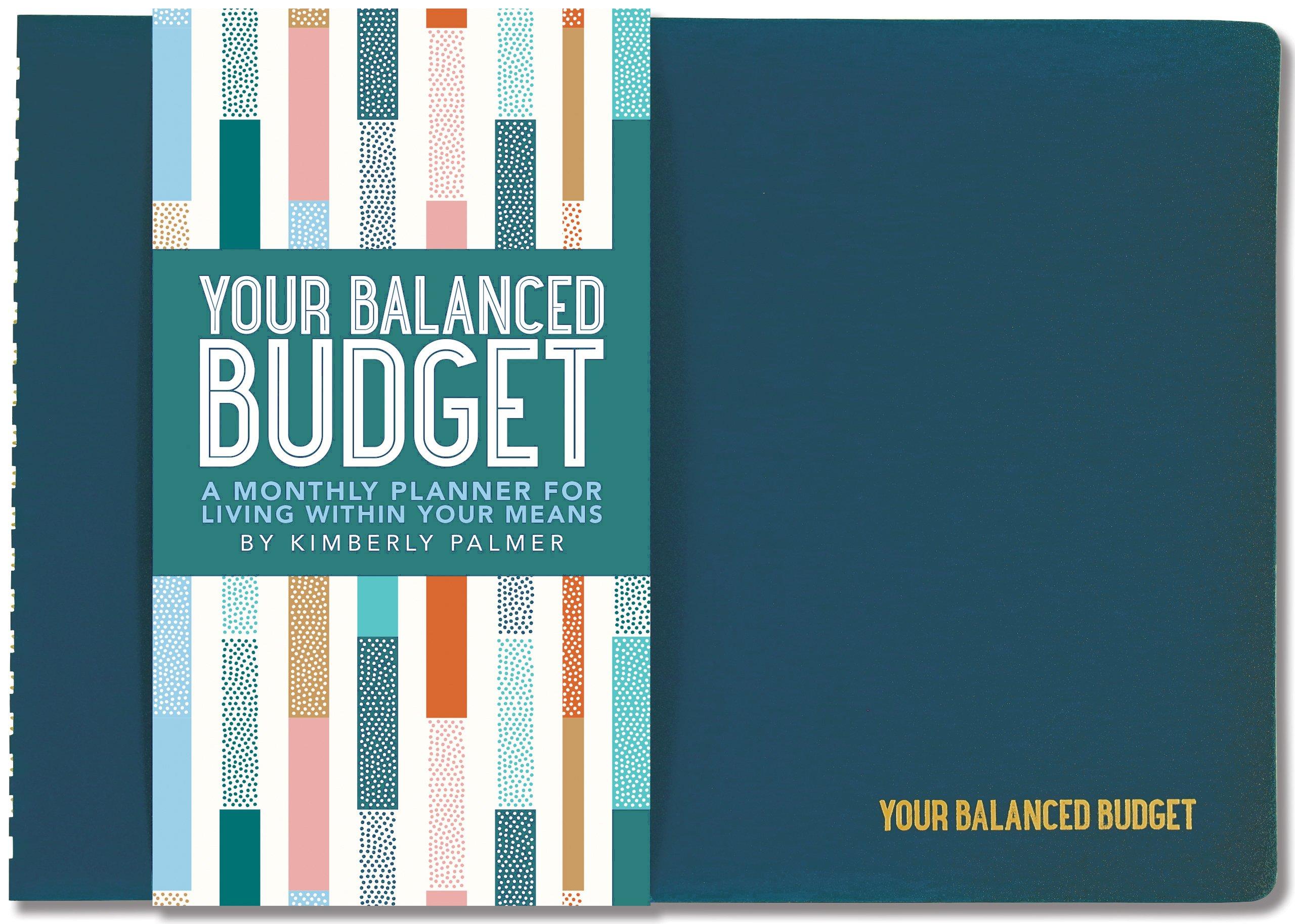 how to budget save money tips tricks balanced planner spiral bound