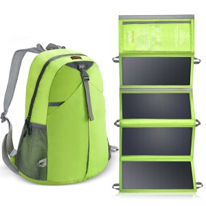 CHOETECH Solar Charger Backpack