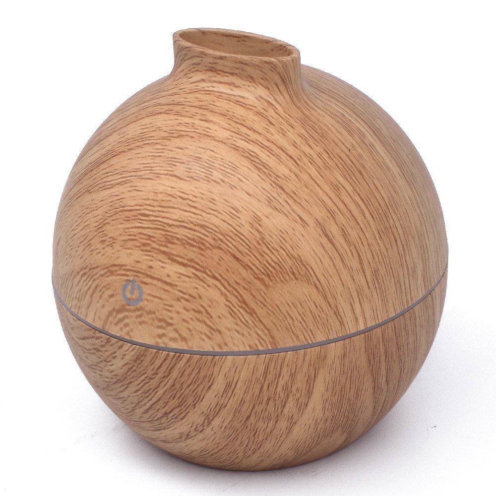 essential oil diffusers under $25 best on Amazon liu nian light wood