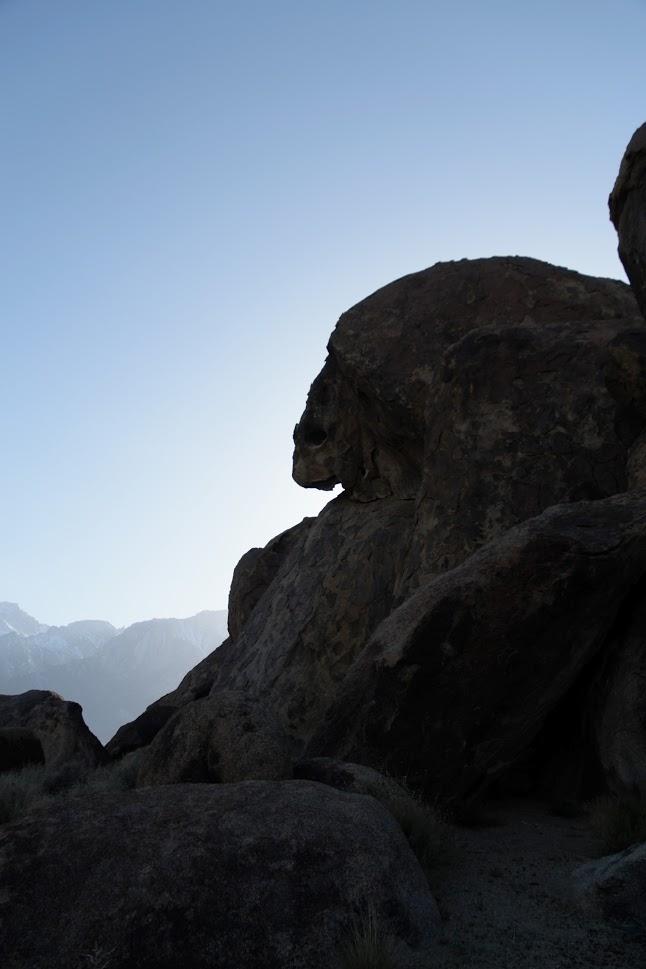 alabama hills rock formations