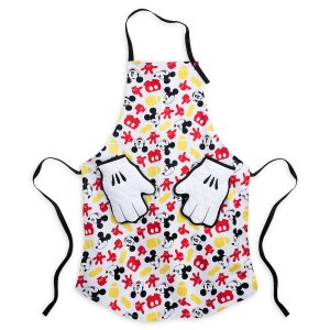 Apron and Oven Mitt Set Mickey Mouse