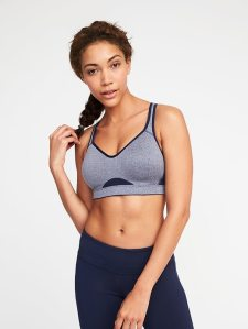 High Support Adjustable-Strap Sports Bra for Women