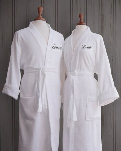 His and Her's Bath Robes