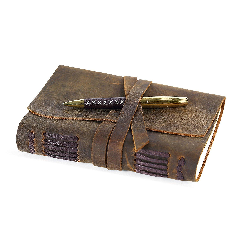 best journals under 25 bound diaries notebooks leather wrap pen handmade soft