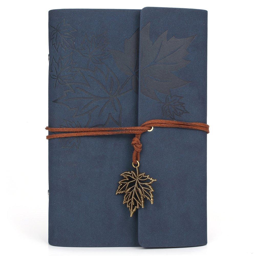 best journals under 25 bound diaries notebooks blue leaf tie leather sketchbook